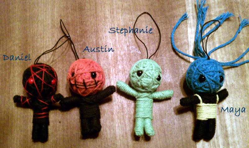 how to make a voodoo doll out of string