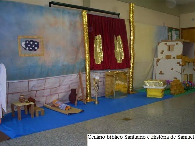 decoracao de sala infantil escola dominical : decoracao de sala infantil escola dominical:Escola Dominical Infantil: Decoração da sala: Tabernáculo e Profeta