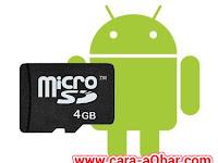 Cara Partisi SD Card Android Tanpa PC