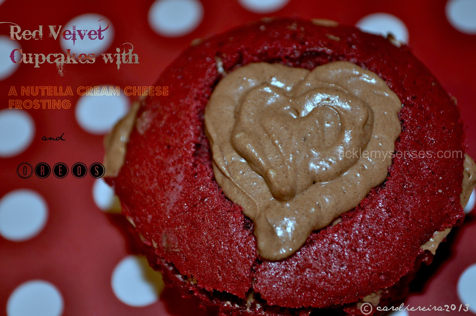Red Velvet Nutella Cupcake Recipe Red Velvet Cupcakes With Oreos