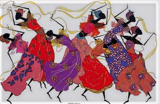 cuadros-con-muñecas-africanas