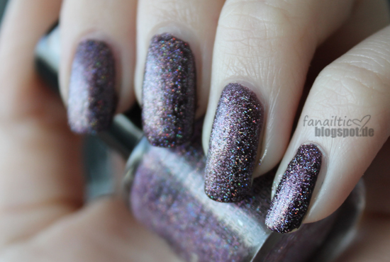 "astor ""sensual candle"" + claire's pink holo glitter"