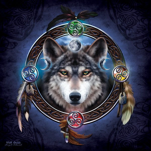 Celtic Wolf-HAED