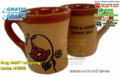 Mug Motif Langsing