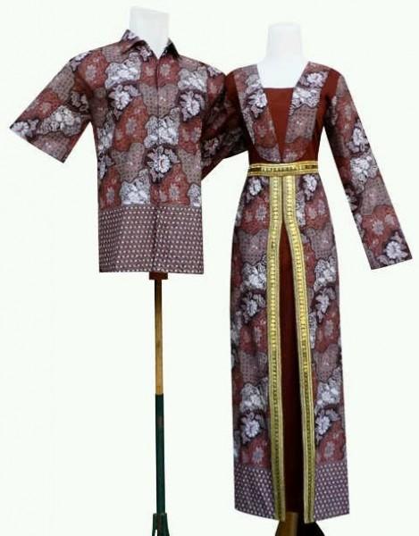 Gamis Batik Pasangan Kaftan Artis