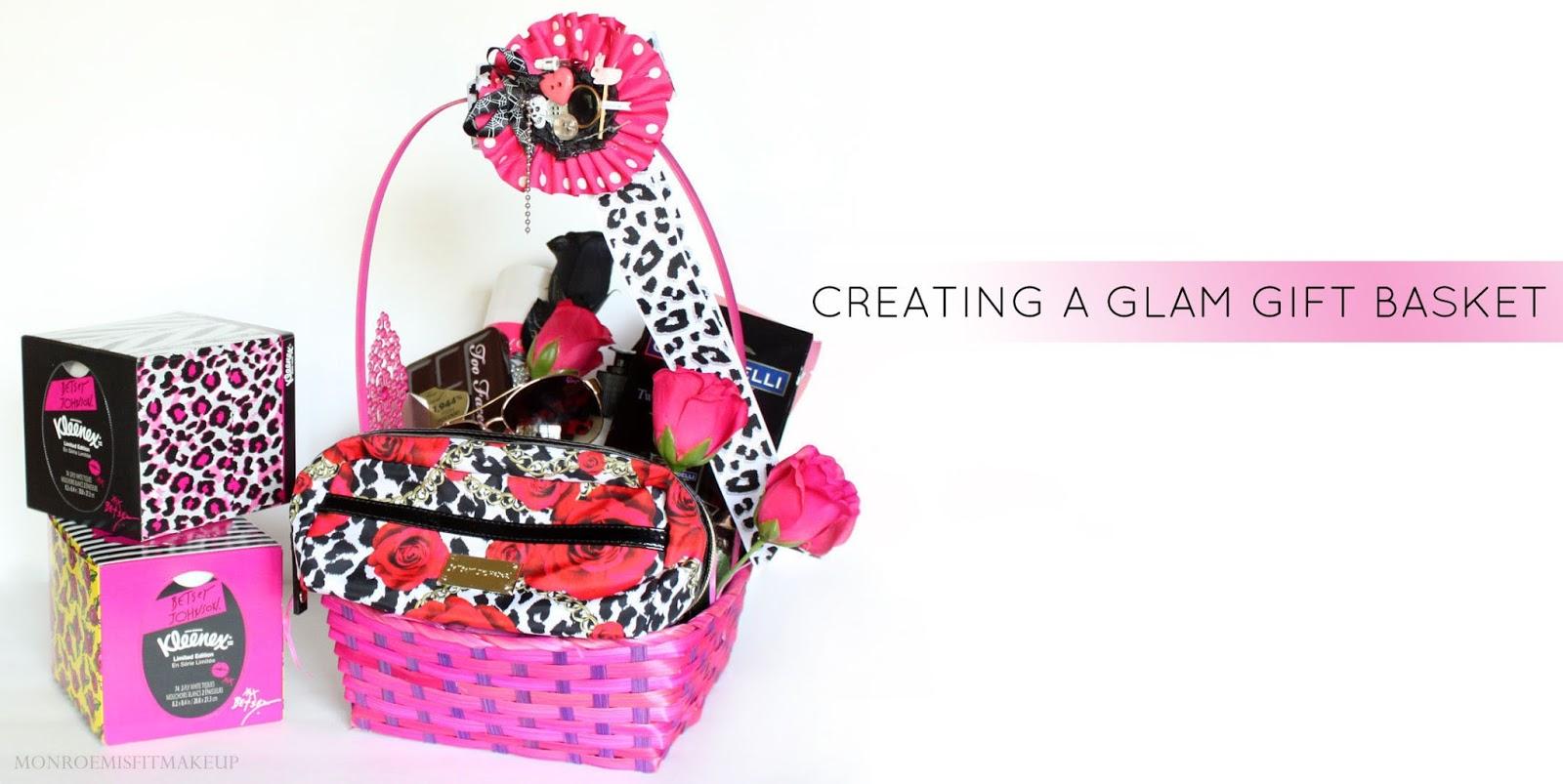 Monroe Misfit Makeup | Beauty Blog: Creating a Glam Gift Basket ...