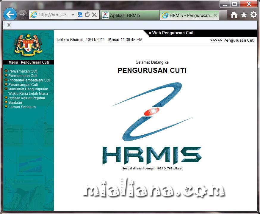 Hrmis Online