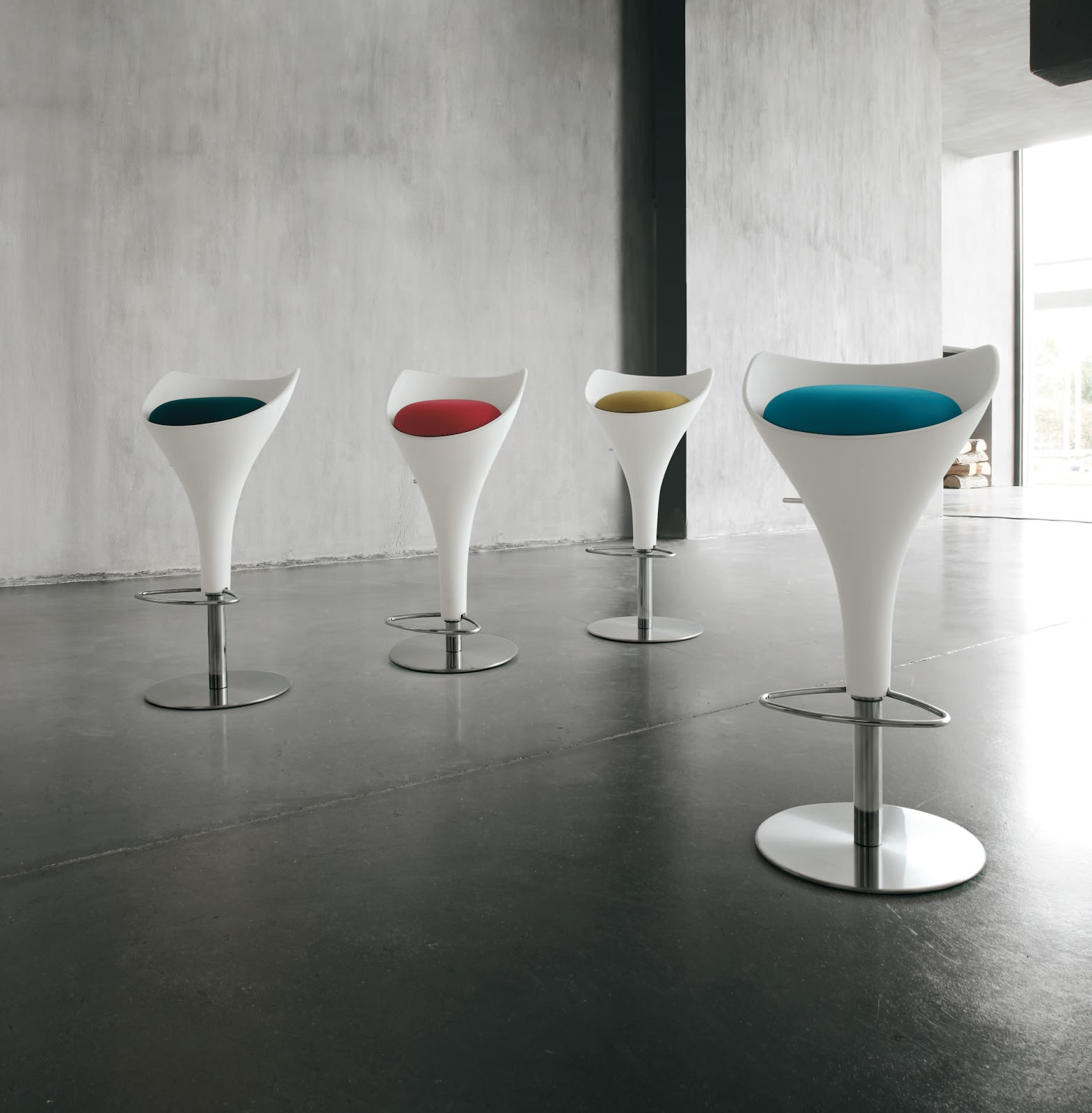 Inspiration mobilier design tabourets de bar design et color s - Tabourets bar design ...
