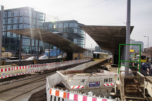 0444, Baustelle Tram-Station am Hauptbahnhof, M6, M8, M10, Invalidenstraße 53, 10557 Berlin, 27.10.2014