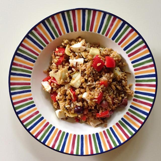 Wild Rice, Salad, Shauna Niequist, Savor, Vegetarian, Recipe