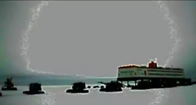 Εμφανίζεται χρονοπύλη πάνω απο ερευνητικό σταθμό στην Ανταρκτική ? vid