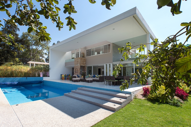 Interesting Casa del Viento by A-oo1 Taller de Arquitectura with large terrace