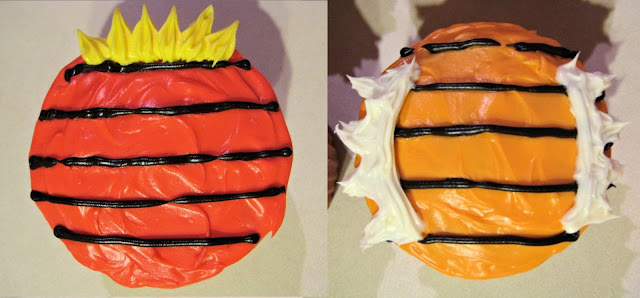 Calvin and Hobbes Themed Cupcakes - Close-Up View of Cupcakes