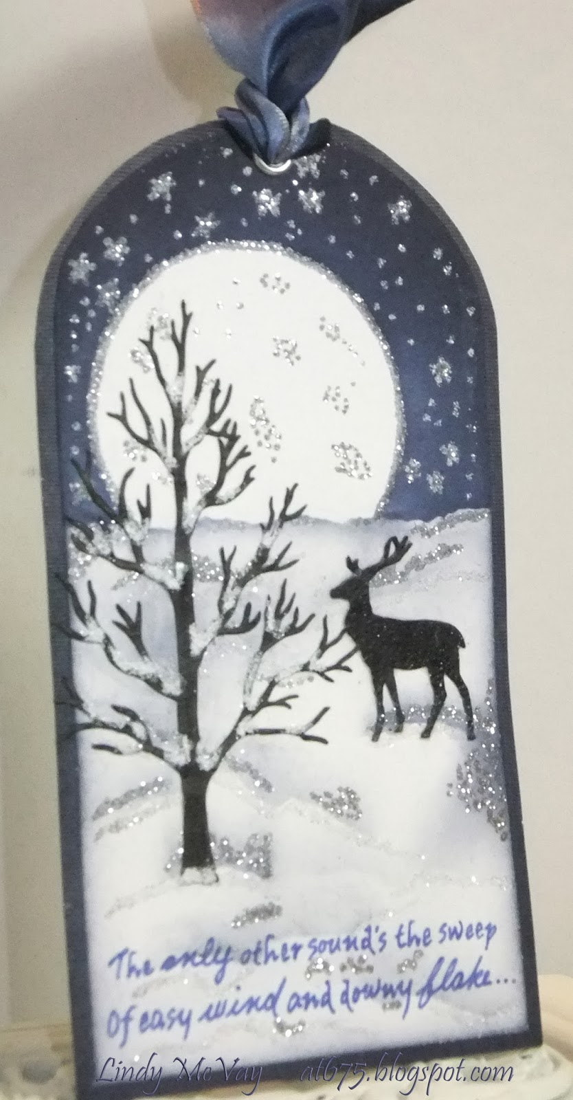 tags, paper crafting, winter