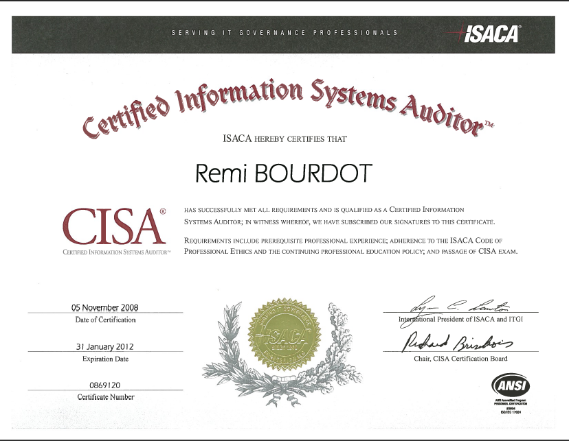 it auditor cisa resume resume with design