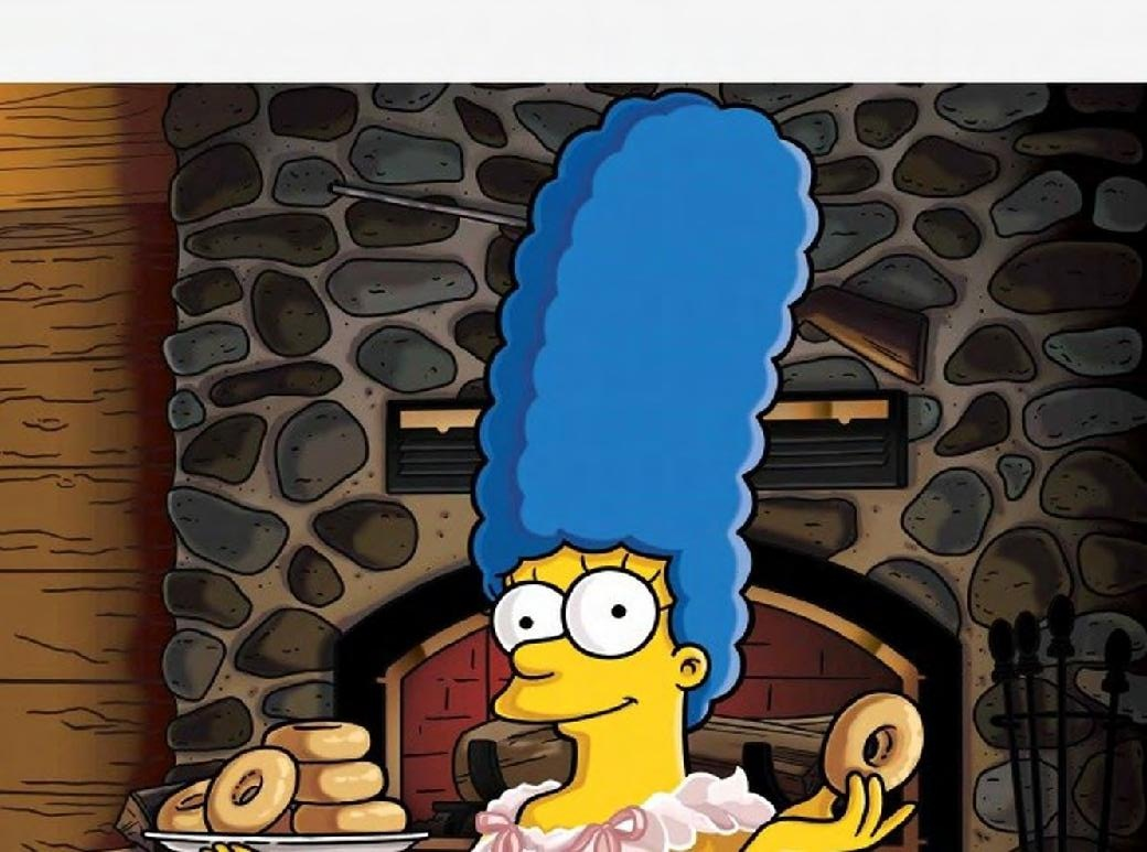 Marge Simpson Playboy Fotos Al Rojo Vivo
