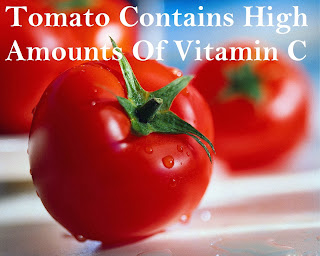 Tomato Contains High Amounts Of Vitamin C