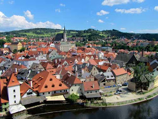 Beautiful Cesky Krumlov, Czech Republic