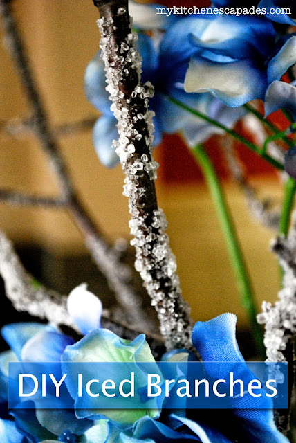 DIY Ice covered branches