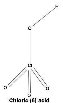 chloric(6)acid image