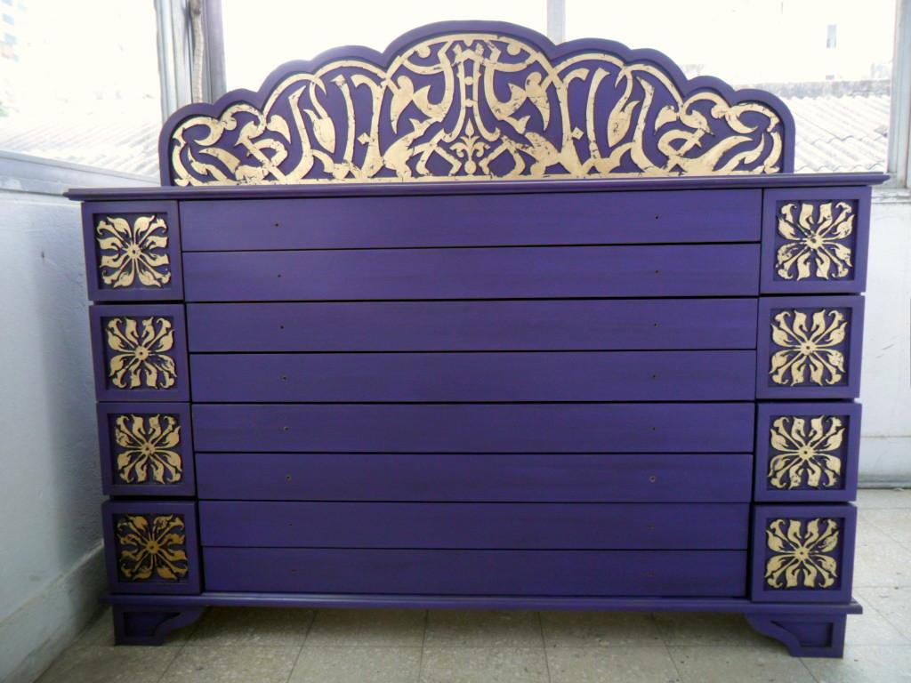 Deco project reciclados de muebles y objetos funes - Muebles de estilo oriental ...