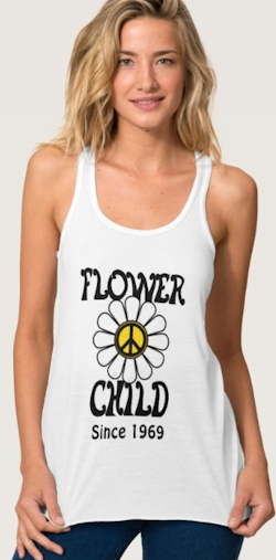 Flower Child Custom T-Shirt