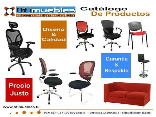 Sillas para oficina ofimuebles colombia for Precios de sillas para oficina