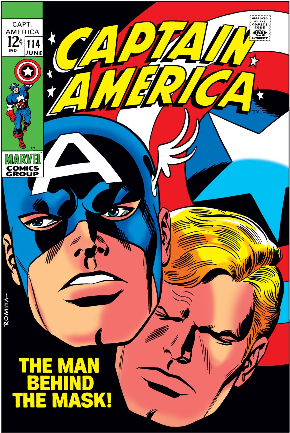 Captain America (1968) Issue #114 #28 - English 1