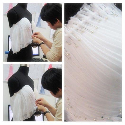 Como hacer un vestido de fiesta drapeado