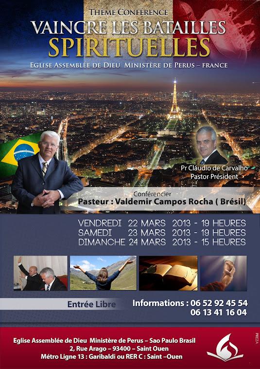 MARATONA DE ESTUDOS BIBLICOS EM IGREJAS DA EUROPA