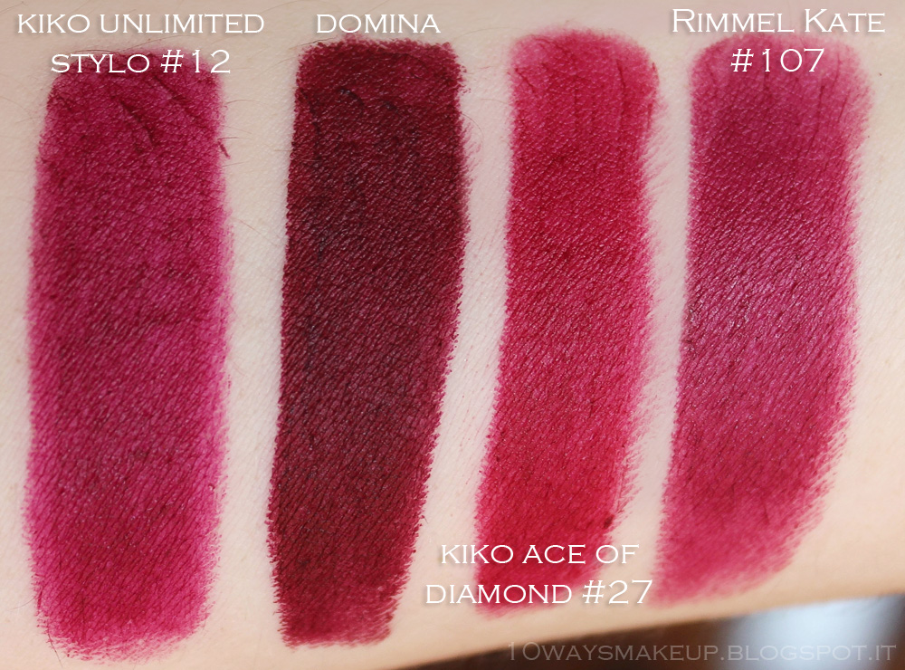 Nabla Diva Crime Domina swatches