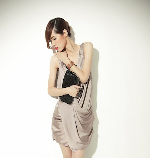 Sexy Sleeveless Formal Dress Khaki
