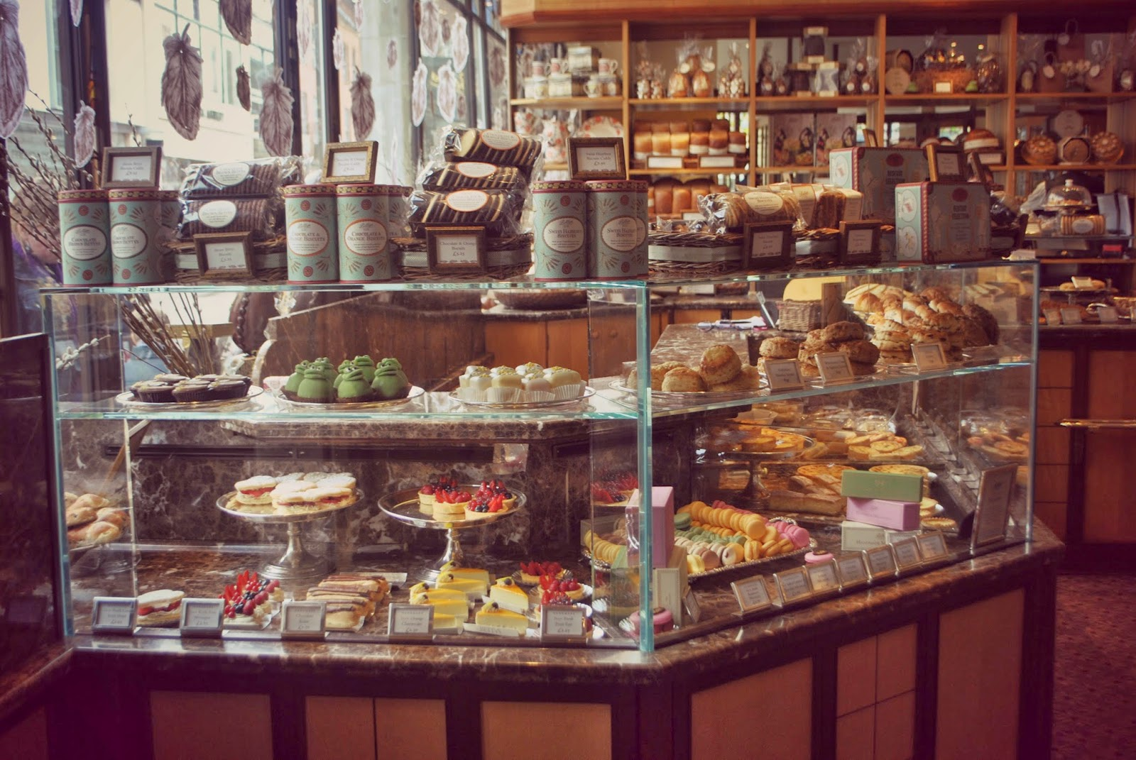 amazing patisserie counter