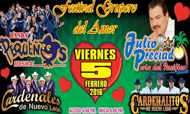 festival grupero del amor 5 de febrero