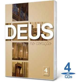 Box Deus no Coração – 4 CDs
