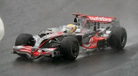Formula 1 2008 Lewis Hamilton/ Mclaren