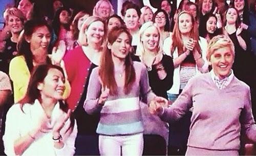 Toni and Alex Gonzaga in Ellen Show