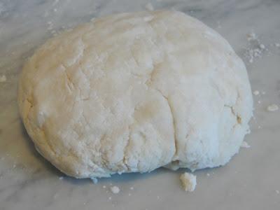 pie crust dough ball