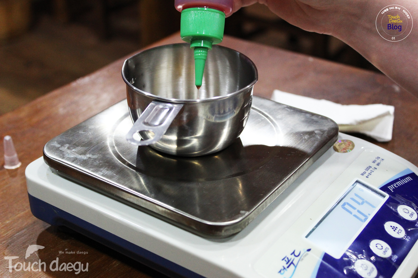 Measuring the ingredients
