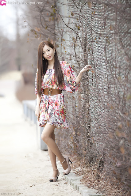 3 Lee Ji Min - Casual Outdoor-very cute asian girl-girlcute4u.blogspot.com