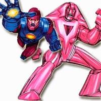 Centinela y Nimrod de los X-Men