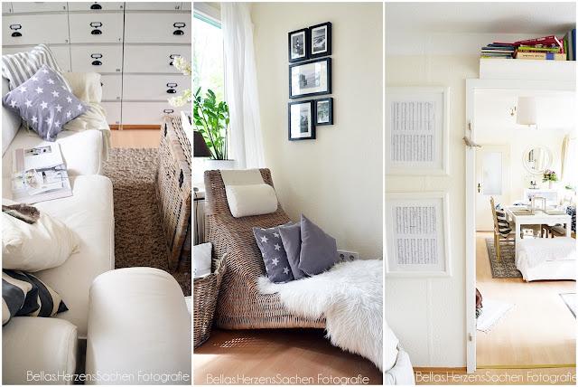 Bilder aus dem Wohnzimmer von Bellas Herzenssachen