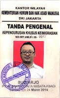 Biro Jasa PASPOR Resmi Imigrasi Kelas-1 Jakarta Timur