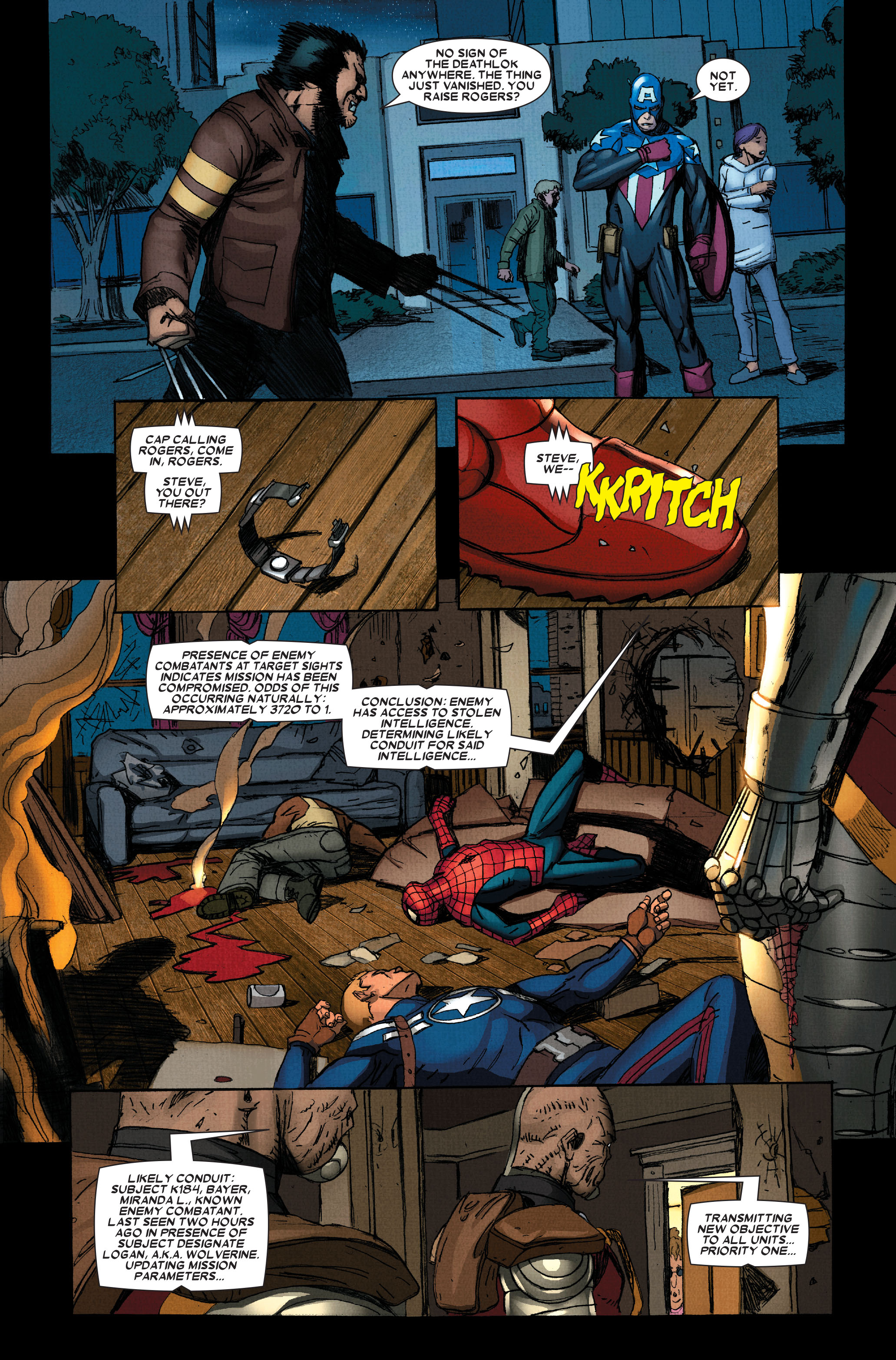 Wolverine: Weapon X #13 #4 - English 22
