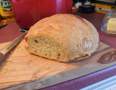 My first home baked bread