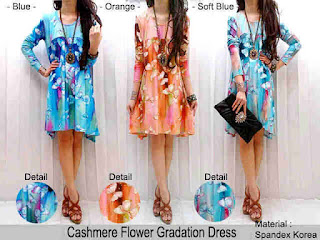 Cashmere Flower fit to XL