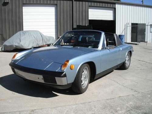 Daily Turismo: 10k: 1973 Porsche 914; Minty Clean