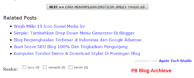 Kumpulan Cara Membuat Related Post Hanya Text (No Thumbnails)