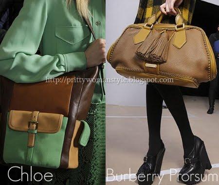 кожени чанти в няколко цвята