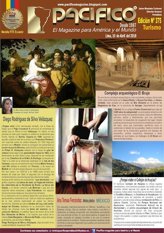 Revista Pacifico Nº 375 Turismo
